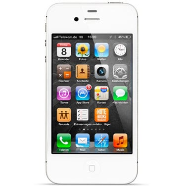iPhone 4S 64GB mit o2 Blue Select