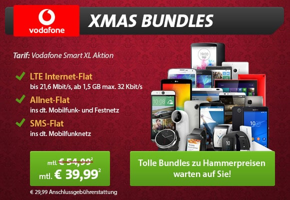 XMas-Bundles Vodafone Smart XL
