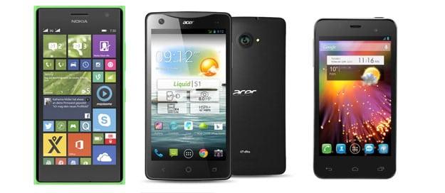3 Dual-SIM-Handys zum Bestpreis