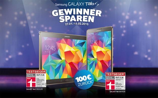 Samsung Galaxy Tab S Gewinner sparen