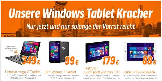 Windows Tablet-Kracher