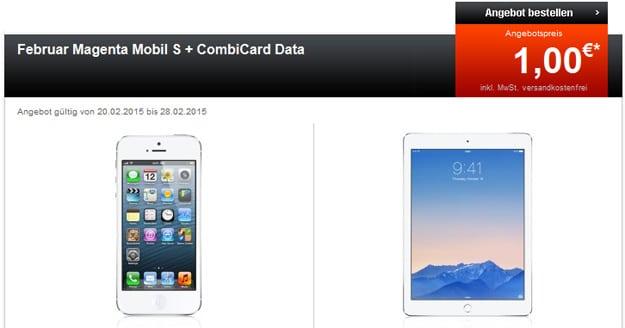 iPhone + iPad mit zwei Telekom-Tarifen