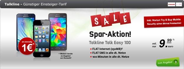 Talk Line Talk Easy 100 Handys von modeo