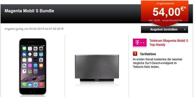 Telekom Magenta Mobil S mit Sonos Play 5