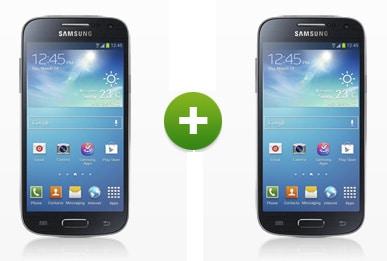 2 x Samsung Galaxy S4 Mini mit Klarmobil