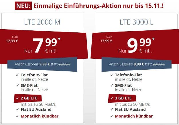 PremiumSIM LTE Tarife
