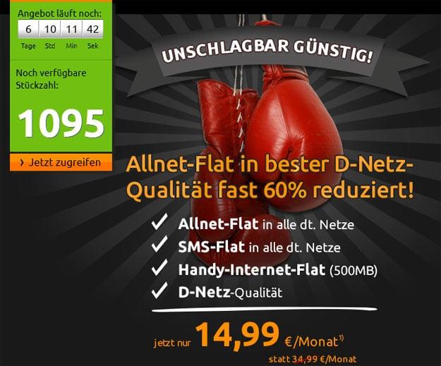 Crash-Aktion Telekom Allnet-Flat