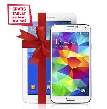 Samsung Galaxy S5 mit Tab 3 (7.0) Lite im Vodafone Smart Light