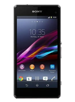 Sony Xperia Z1 Compact schwarz