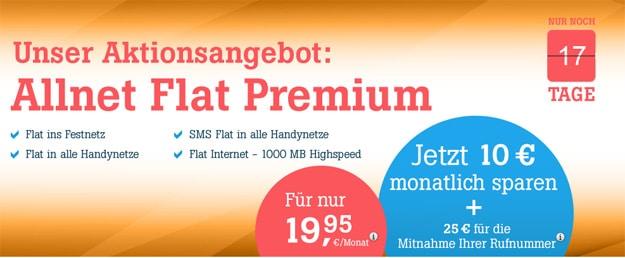 Tele2 Angebote mit Allnet-Flats