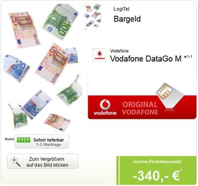 DataGo M mit 340 € Auszahlung