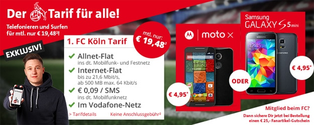 1. FC Köln Tarif