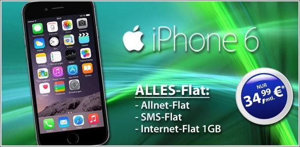 iPhone6 - real Allnet o2