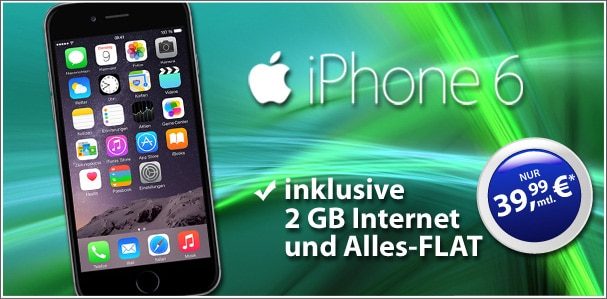 iPhone 6 16GB mit real Allnet Vodafone