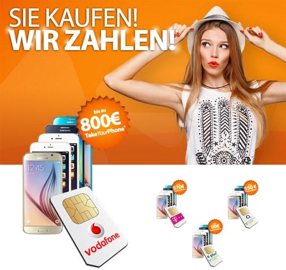 Mediaspar-Auszahlungaktion mit Handys