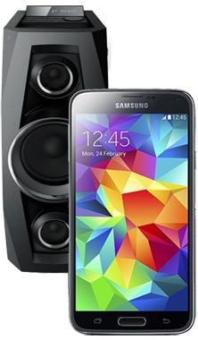 Samsung Galaxy S5 Mini mit Sony HiFi-System