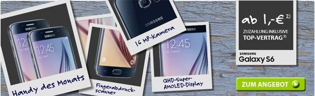 Samsung Galaxy S6 mit Telekom Flat Smart Plus
