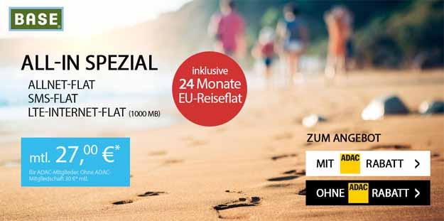 BASE all-in EU-Reiseflat