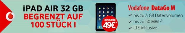 iPad Air 32GB mit DataGo M