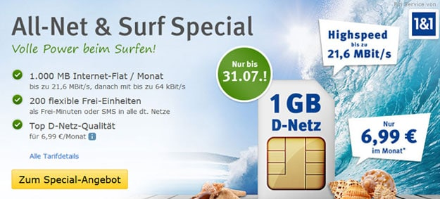 Allnet Surf Special