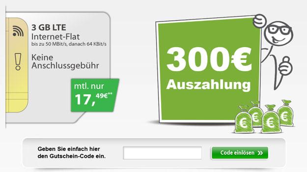 3 GB von Vodafone exklusiv