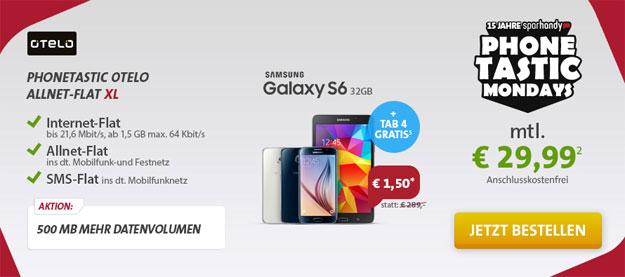 Samsung Galaxy S6 Phonetastic Otelo XL