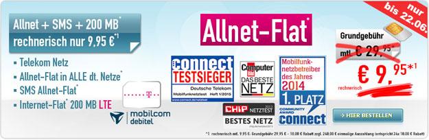 Telekom Special Allnet für 9,95 € im Monat