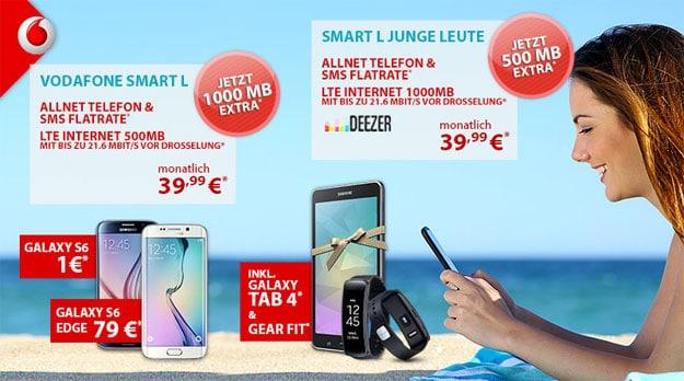 Vodafone Smart L mit 1,5GB bei PB24
