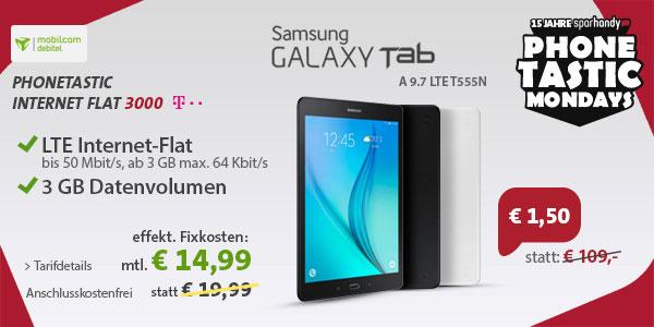 3 GB LTE-Flat Telekom mit Tab A (9.7) LTE