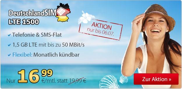 DeutschlandSIM LTE1500