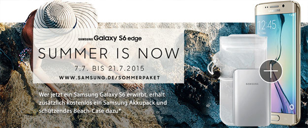 Summer is now - Samsung Sommerpaket
