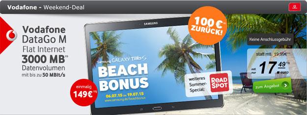 DataGo M im Tablet-Deal von Samsung