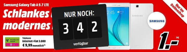 Internet Flat 3000 + Samsung Galaxy Tab A
