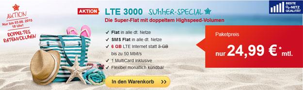 Hellomobil LTE 3000 mit 6 GB LTE