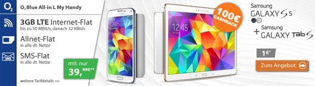 o2 Blue all-in L mit Samsung Galaxy Tab S (10.5)