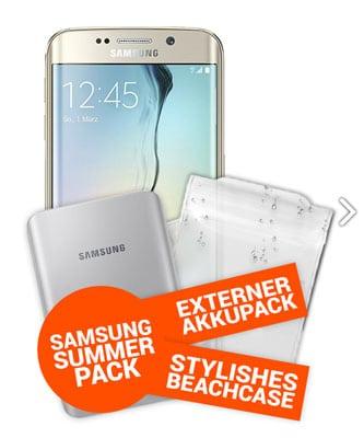 Samsung Galaxy S6 mit Sommerpaket und Schalke-Tarif