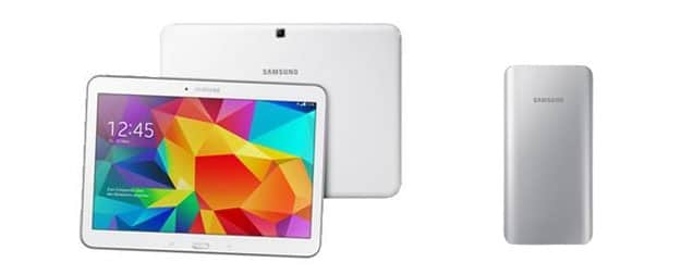 Samsung Galaxy Tab 4 (10.1) mit Akkupack