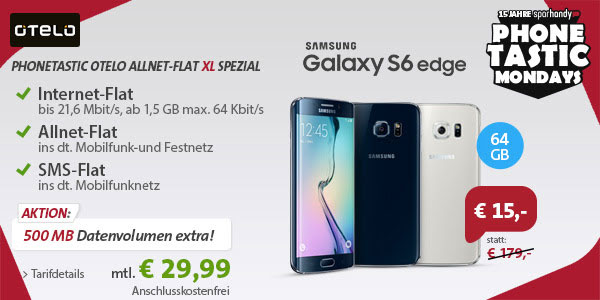 Otelo Allnet-Flat XL - Samsung Galaxy S6 Edge