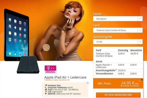 Telekom Data Comfort M - iPad Air