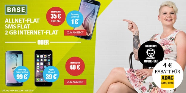 BASE all-in promo mit 2 GB