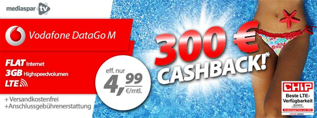 DataGo M mit 300 € bei mediaspar