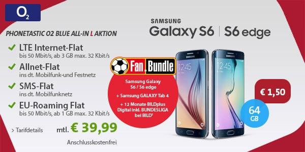 o2 Blue All-in L mit Samsung Galaxy S6