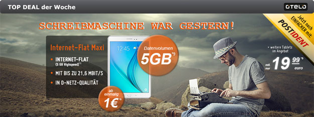 Otelo 5 GB Datentarif Internet Flat Maxi