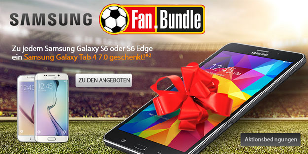 Samsung Galaxy S6 mit Fanbundle BASE all-in Spezial
