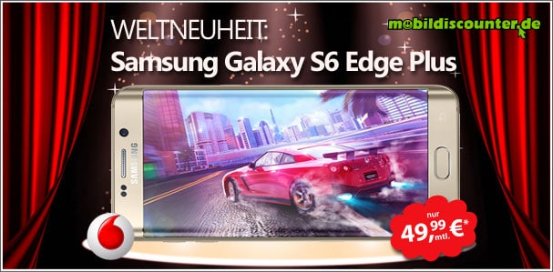 Samsung Galaxy S6 Edge Plus mit Smart XL