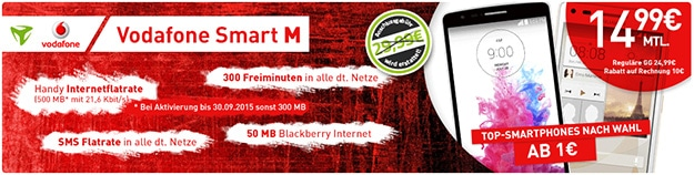 Vodafone Smart M (md) mit S3 Neo