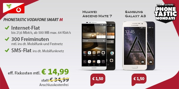 Vodafone Smart M (md) mit Mate 7