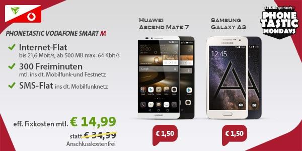 Vodafone Smart M (md) mit Mate 7
