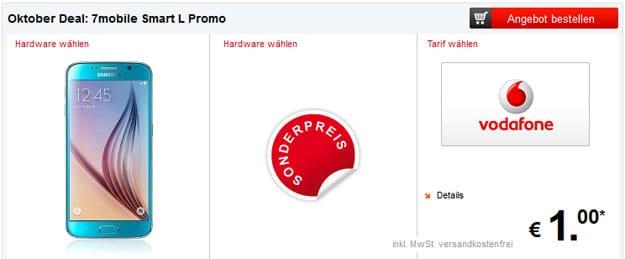 7mobile im Oktober-Deal mit Vodafone Smart L 1,5GB