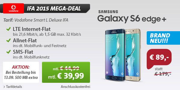 Samsung Galaxy S6 Edge Plus - Vodafone Smart L